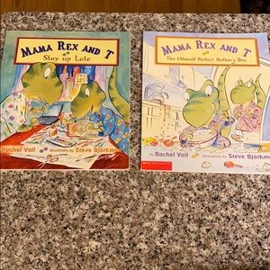 Lot of 2 Mama Rex and T books